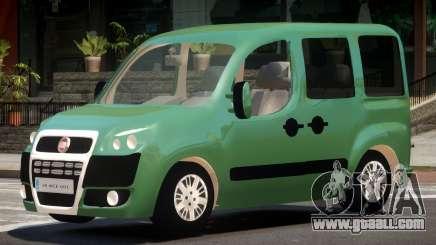 Fiat Doblo V1.0 for GTA 4