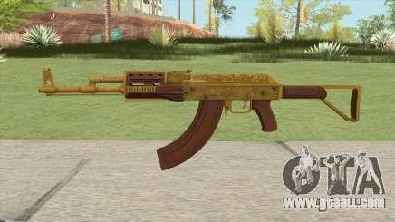Shrewsbury Assault Rifle GTA V (Extended Clip) for GTA San Andreas