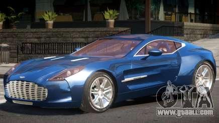 Aston Martin One-77 V1.0 for GTA 4