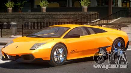 Lamborghini Murcielago Y10 for GTA 4