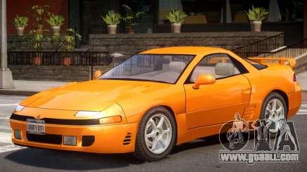 1992 Mitsubishi 3000GT for GTA 4