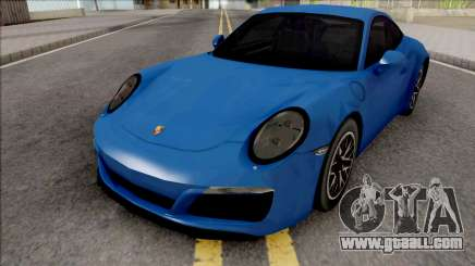Porsche 911 (991.2) Carrera S 2017 SA Style for GTA San Andreas
