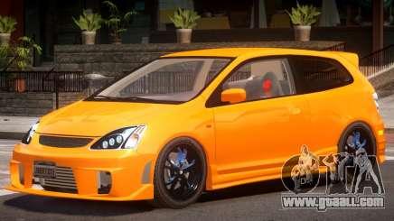 Honda Civic Type R Y5 for GTA 4