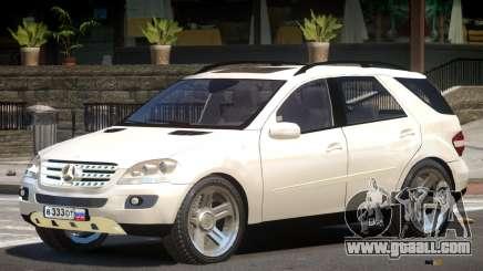 Mercedes ML500 V1.1 for GTA 4