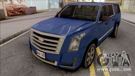 Cadillac Escalade 2016 Lowpoly v2.0 for GTA San Andreas