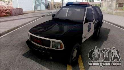 GMC Jimmy 2001 Police for GTA San Andreas