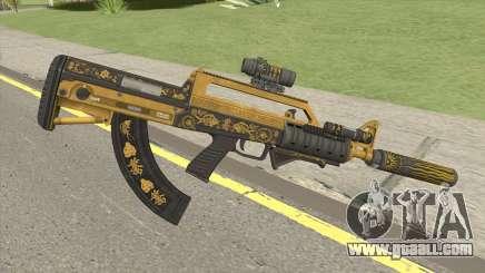 Bullpup Rifle (Complete Upgrade) Main Tint GTA V for GTA San Andreas