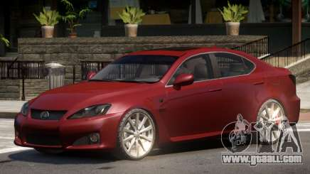 Lexus IS Comfortable for GTA 4