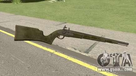 Edinburgh Musket (Green) GTA V for GTA San Andreas