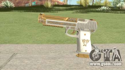 Pistol 50 (Platinum Pearl) GTA V for GTA San Andreas