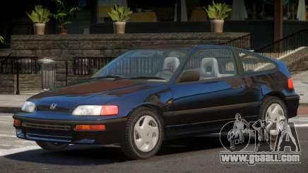 1992 Honda CRX V1.3 for GTA 4