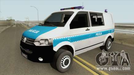 Volkswagen Transporter T6 (Policja KSP) for GTA San Andreas