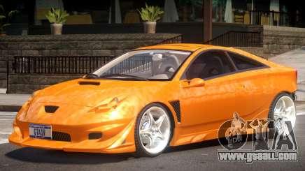 Toyota Celica V1.0 for GTA 4