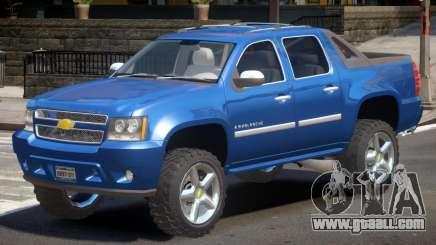 Chevrolet Avalanche V1.1 for GTA 4