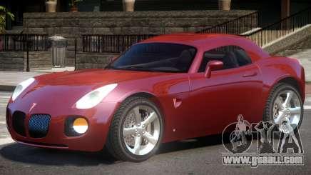 Pontiac Solstice V1 for GTA 4