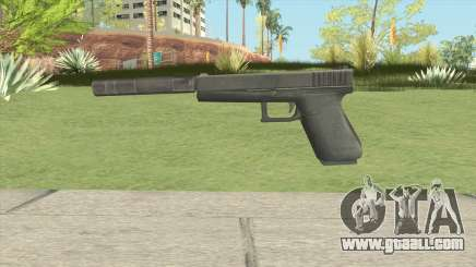 Silenced Pistol GTA IV for GTA San Andreas