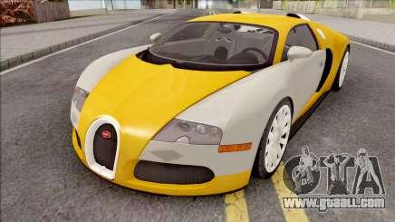 Bugatti Veyron HQ Interior for GTA San Andreas