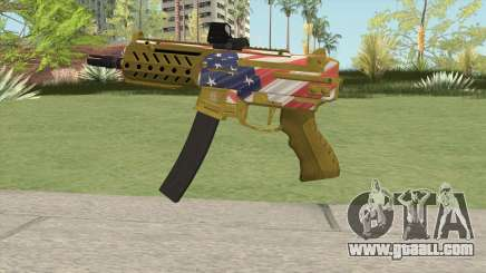 SMG MK II GTA V (Custom Version) for GTA San Andreas