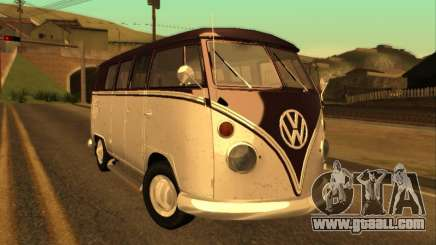 Volkswagen Bus Typ 2 1965 for GTA San Andreas