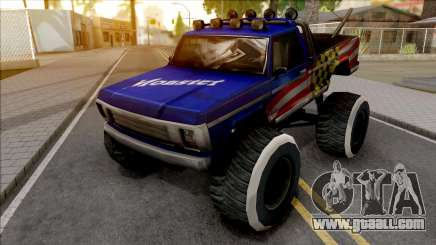New Monster Truck for GTA San Andreas