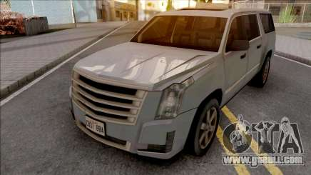 Cadillac Escalade 2016 Lowpoly for GTA San Andreas