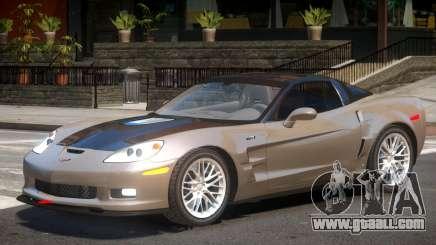 Chevrolet Corvette ZR1 V1.3 for GTA 4