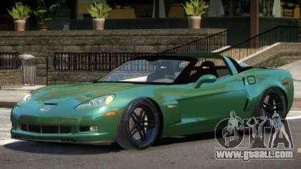 Chevrolet Corvette Z06 Spider for GTA 4