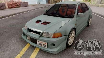 Mitsubishi Lancer GSR Evolution VI 1999 v2 for GTA San Andreas