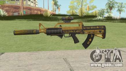 Bullpup Rifle (Three Upgrade V3) Main Tint GTA V for GTA San Andreas