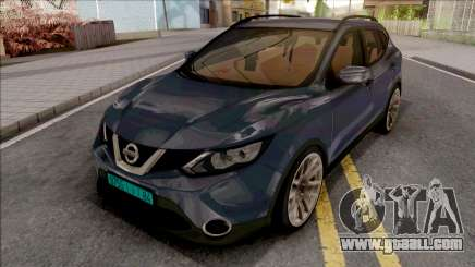 Nissan Qashqai IVF for GTA San Andreas