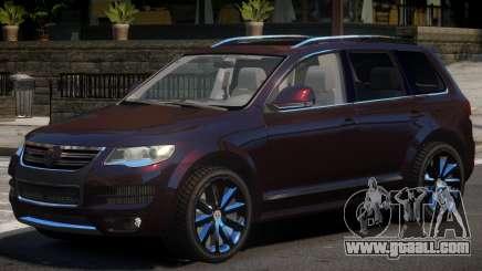 Volkswagen Touareg Tuned for GTA 4