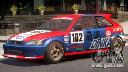 Dinka Blista Compact V1 PJ6 for GTA 4