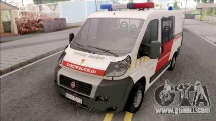 Fiat Ducato Katasztrofavedelem for GTA San Andreas