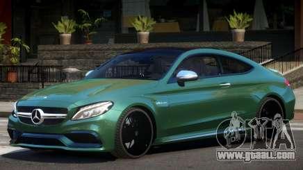 Mercedes C63 S AMG V1 for GTA 4