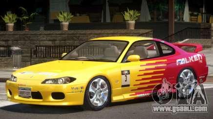 Nissan Silvia S15 V1.1 PJ2 for GTA 4