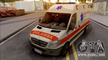 Mercedes-Benz Sprinter Ambulans Hitna Pomoc for GTA San Andreas