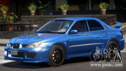 Subaru Impreza STI GT for GTA 4