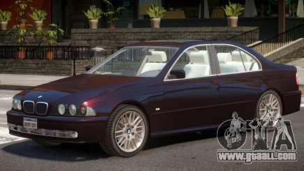 BMW 525I E39 V1.2 for GTA 4
