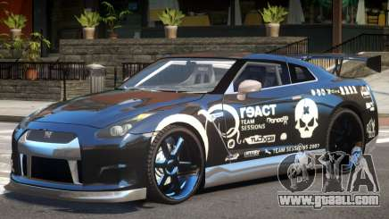 Nissan GT-R 35 V1.0 PJ for GTA 4