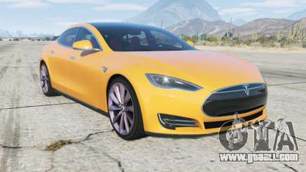 Tesla Model S 2012 for GTA 5