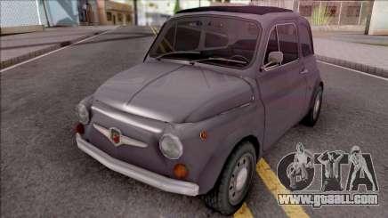 Fiat Abarth 595 SS 1968 Standart Wheels for GTA San Andreas