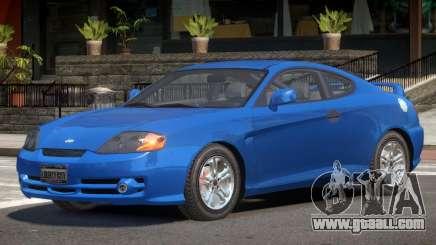 Hyundai Tiburon V1.0 for GTA 4