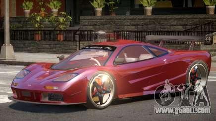 Mc Laren F1 V1.0 for GTA 4