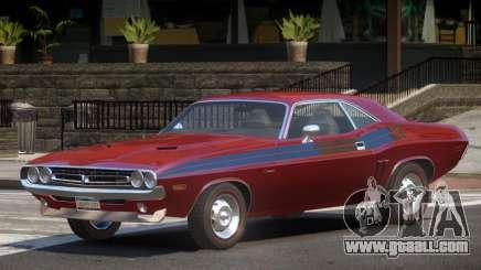 1971 Dodge Challenger R1 for GTA 4