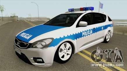 Kia Ceed SW I (Policja KSP Warszawa) for GTA San Andreas