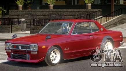 Nissan Skyline GT-R Tun for GTA 4