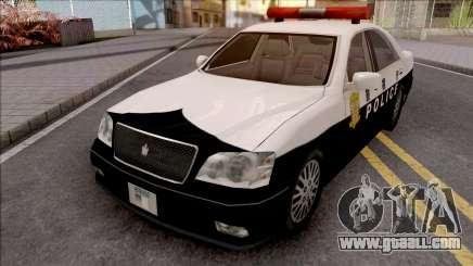 Toyota Crown S170 Patrol Car SA Style for GTA San Andreas