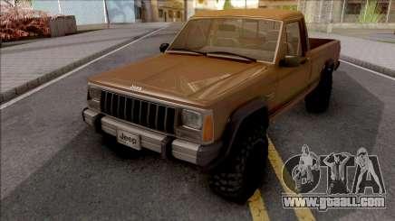 Jeep Comanche v2 for GTA San Andreas
