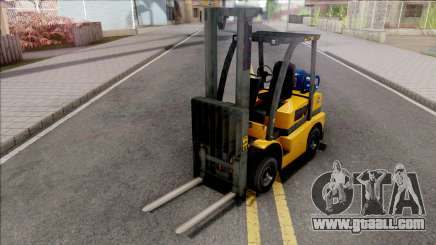 GTA V HVY Forklift IVF Style for GTA San Andreas