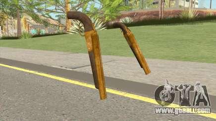 Double Barrel Shotgun GTA V (Gold) for GTA San Andreas